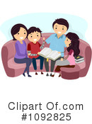 Royalty-Free (RF) family Clipart Illustration #1092825
