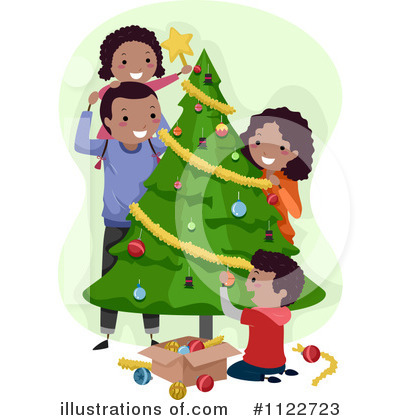 Christmas Tree Clipart #1122723 by BNP Design Studio