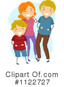 Family Clipart #1122727 by BNP Design Studio