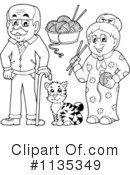 Family Clipart #1135349 by visekart