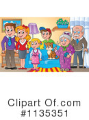 Family Clipart #1135351 by visekart
