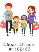 Royalty-Free (RF) Family Clipart Illustration #1182183