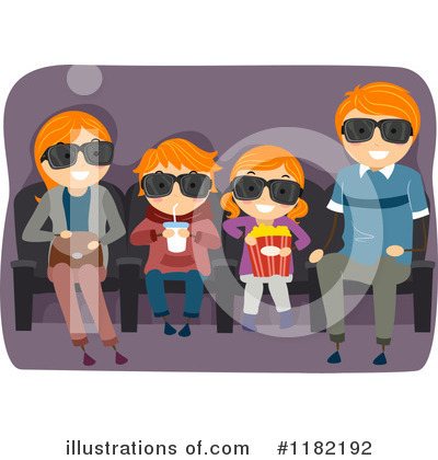 Movies Clipart #1182192 by BNP Design Studio