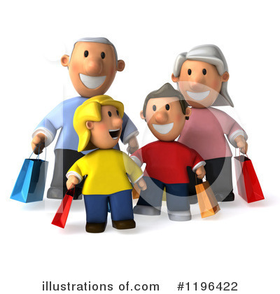 Family Clipart #1196422 by Julos