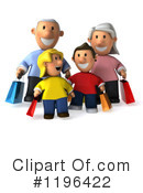 Royalty-Free (RF) Family Clipart Illustration #1196422