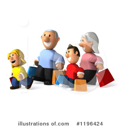 Family Clipart #1196424 by Julos