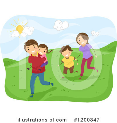 Running Clipart #1200347 by BNP Design Studio