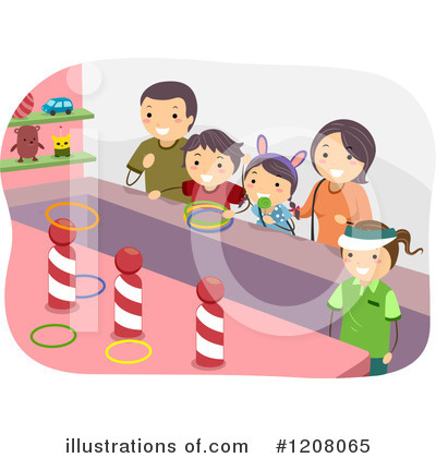 Amusement Park Clipart #1208065 by BNP Design Studio