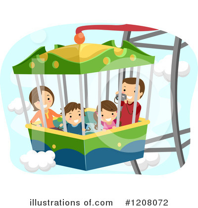 Amusement Park Clipart #1208072 by BNP Design Studio