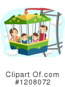 Royalty-Free (RF) Family Clipart Illustration #1208072