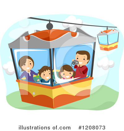 Amusement Park Clipart #1208073 by BNP Design Studio