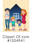 Family Clipart #1224541 by Graphics RF
