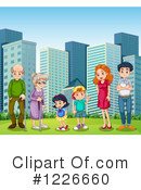 Family Clipart #1226660 by Graphics RF