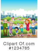 Family Clipart #1234785 by Graphics RF