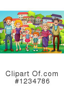 Family Clipart #1234786 by Graphics RF