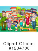 Family Clipart #1234788 by Graphics RF