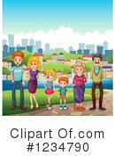 Family Clipart #1234790 by Graphics RF