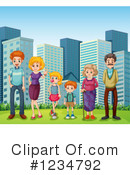 Family Clipart #1234792 by Graphics RF