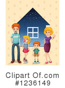 Family Clipart #1236149 by Graphics RF