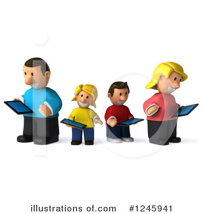Family Clipart #1245941 by Julos