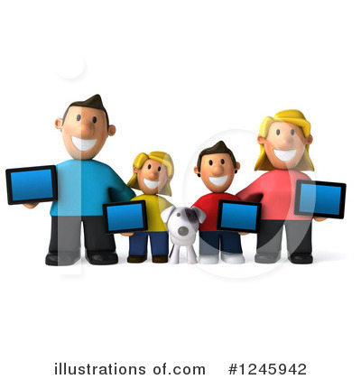 Family Clipart #1245942 by Julos