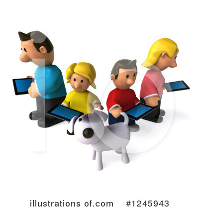 Family Clipart #1245943 by Julos