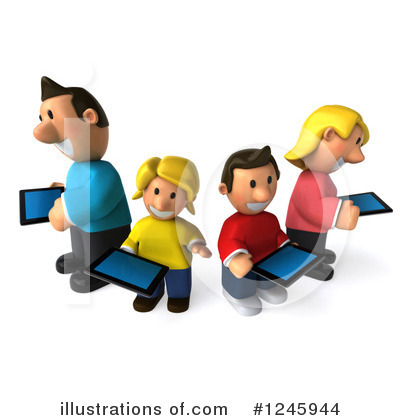 Family Clipart #1245944 by Julos