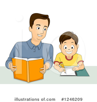 Homework Clipart #1246209 by BNP Design Studio