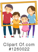 Royalty-Free (RF) Family Clipart Illustration #1260022