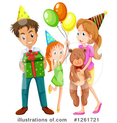 Birthday Clipart #1261721 by Graphics RF