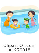 Royalty-Free (RF) Family Clipart Illustration #1279018