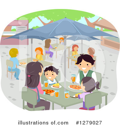 Cafeteria Clipart #1279027 by BNP Design Studio