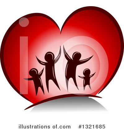 Heart Clipart #1321685 by BNP Design Studio