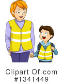 Royalty-Free (RF) Family Clipart Illustration #1341449