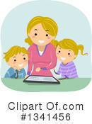 Family Clipart #1341456 by BNP Design Studio