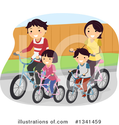 Bicycle Clipart #1341459 by BNP Design Studio