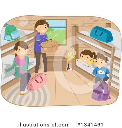 Cabin Clipart #1341461 by BNP Design Studio