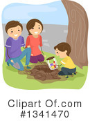 Family Clipart #1341470 by BNP Design Studio