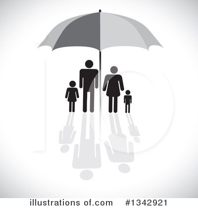 Royalty-Free (RF) Family Clipart Illustration by ColorMagic - Stock Sample #1342921