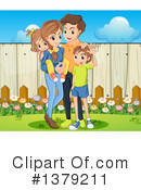 Family Clipart #1379211 by Graphics RF