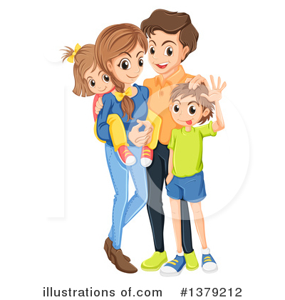 Royalty-Free (RF) Family Clipart Illustration by Graphics RF - Stock Sample #1379212