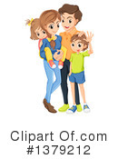 Royalty-Free (RF) Family Clipart Illustration #1379212