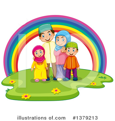 Family Clipart #1379213 by Graphics RF