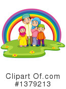 Royalty-Free (RF) Family Clipart Illustration #1379213