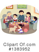Family Clipart #1383952 by BNP Design Studio