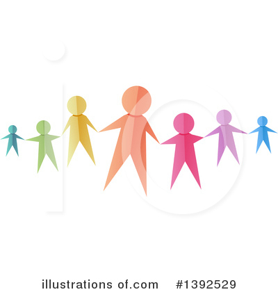 Royalty-Free (RF) Family Clipart Illustration by BNP Design Studio - Stock Sample #1392529