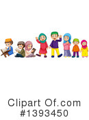 Family Clipart #1393450 by Graphics RF
