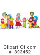 Family Clipart #1393452 by Graphics RF