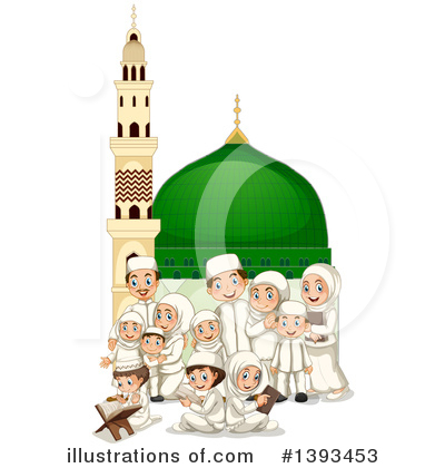 Mosque Clipart #1393453 by Graphics RF