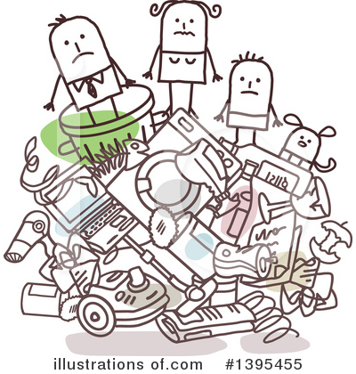 Garbage Clipart #1395455 by NL shop